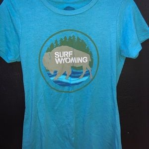 Surf Wyoming Short Sleeve T-shirt
